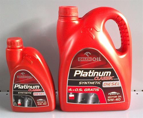 OrlenOil Platinum Classic Diesel 5W-40 syntetický olej
