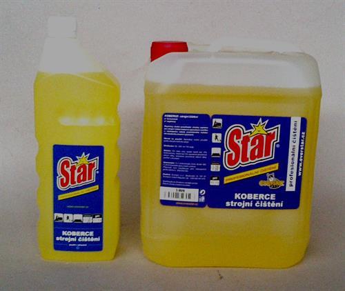 Star Koberce-strojní čištění