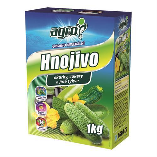 AGRO Organominerální hnojivo pro okurky, cukety a jiné tykve