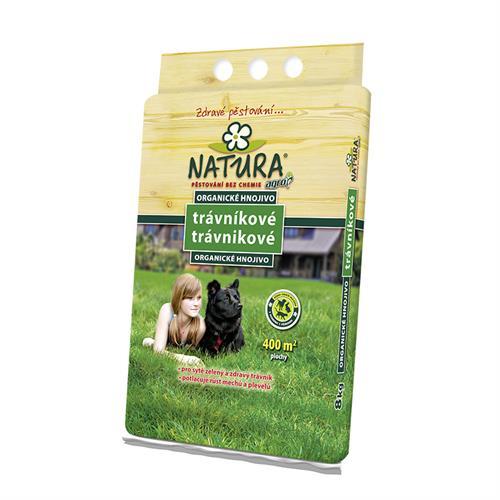 NATURA organické trávníkové hnojivo