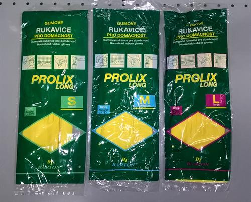 Gumové rukavice PROLIX LONG