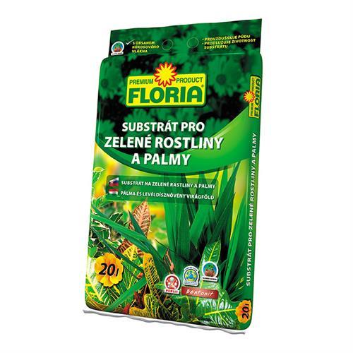 Floria Substrát pro zelené rostliny a palmy