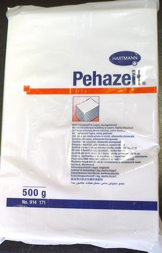 Pehazell buničitá vata v přířezech