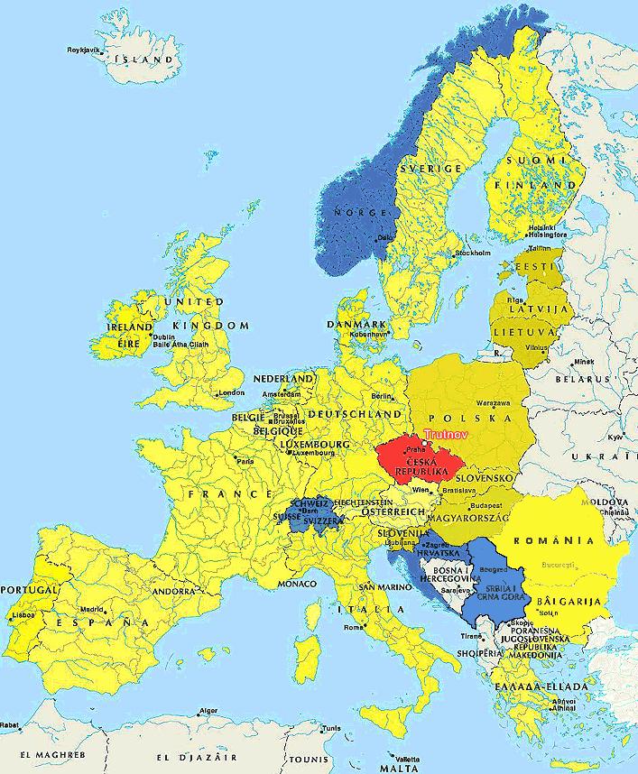 Spedice a mezinárodní kamionová doprava - Anglie, Irsko, Německo, Belgie, Slovensko