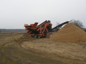 Po 1 hod. je dokončeno vytřídění osmi Tater písku