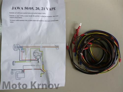 Elektroinstalace - JAWA 50/20,21,05 VAPE