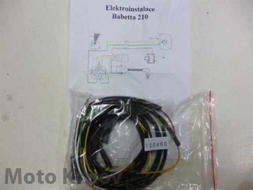 elektroinstalace ( BAB 210 )