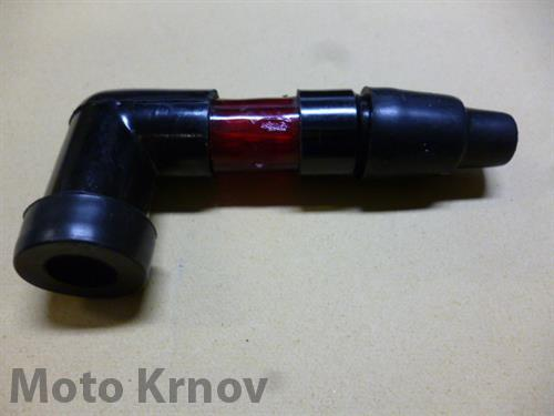 koncovka kabelu - FLASH ( UNI ) blikací / červená