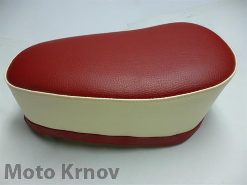 Potah sedla Jawetta sport-červená/krémová