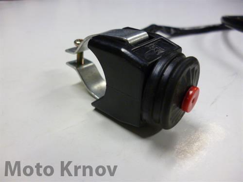 tlačítko zhášení motoru-zkratovací