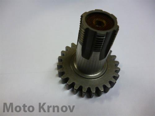 Kolo s nábojem 24z Jawa 50/550-555