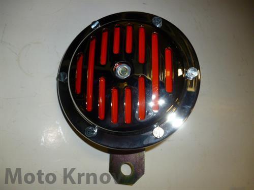 Klakson 6V D100 (Jawa-chrom)