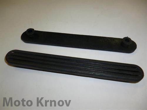 guma podlážky - 2x úchyt ( ČEZETA - skútr 501,502 )
