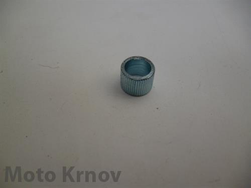 pouzdro páčky 7x9x6,5 - rádlované ( Jawa,ČZ 6V )