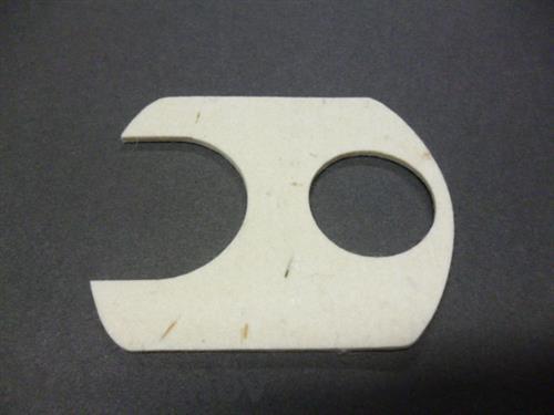 dečka-filc nádrže BA207 bílá