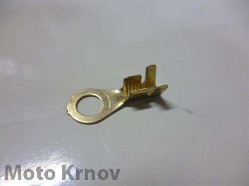 Kabelové oko 5,2mm drát 0,8-4mm lisovací