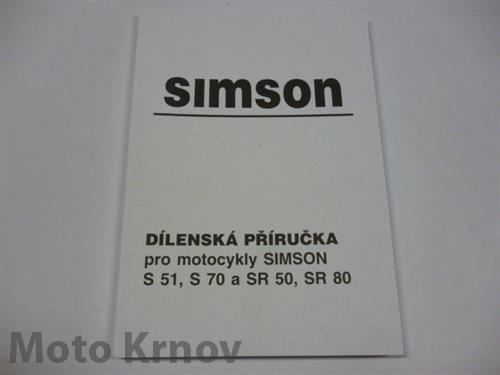 dílenská příručka simson pdf