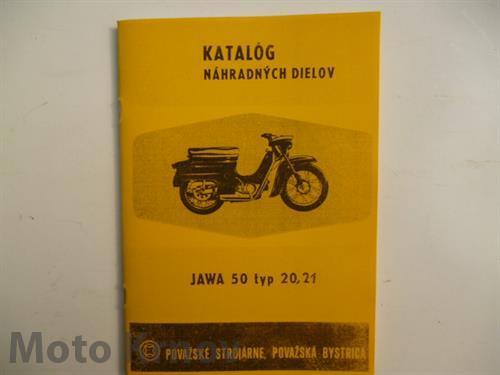 Katalog ND JAWA 50 typ 20,21