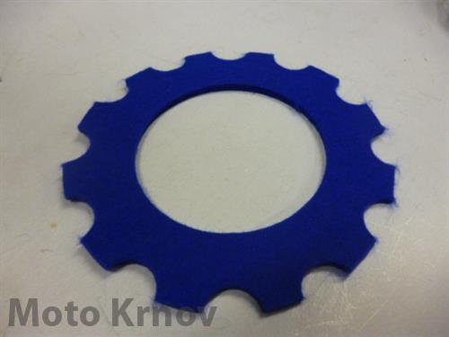 filc zátky nádrže-oblouk/modrý