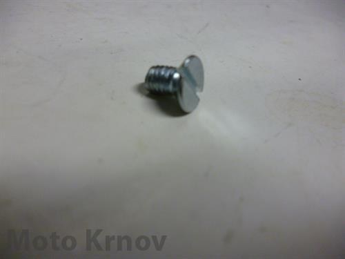 šroub M5 x 8 zapuštěná hlava