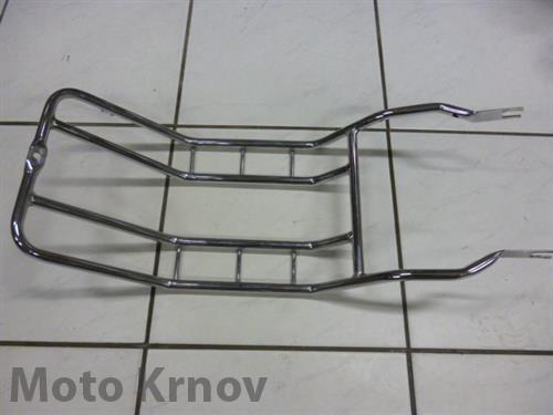 chromovaný nosič - přední