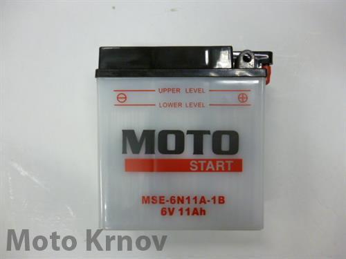 akumulátor 6N11A-1B MOTOSTART (6V 11Ah)