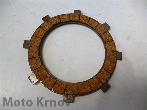 lamela spojky - korková ( ČZ - 125,150 C )